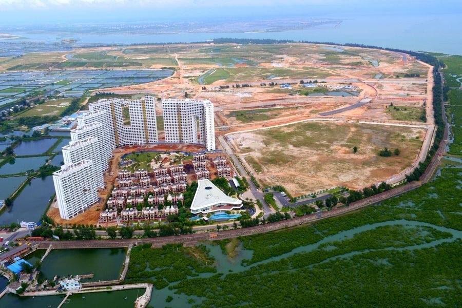 广西被哈中信国安北海第一城实景图