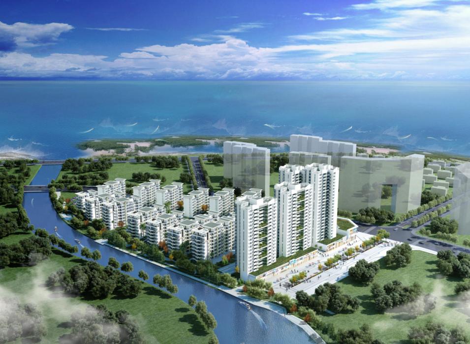 广西北海中信国安北海第一城效果图