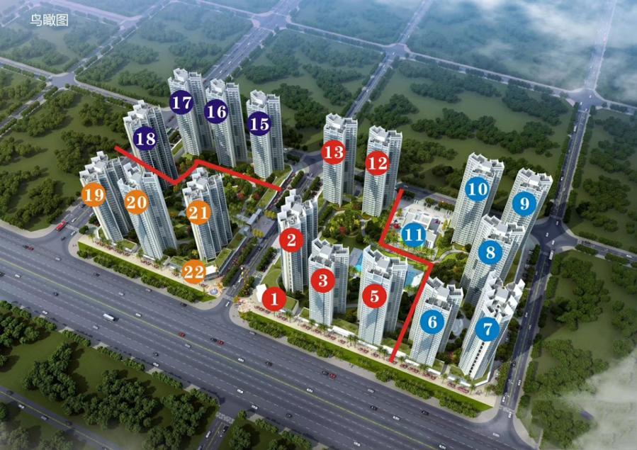 广西北海大都锦城规划图