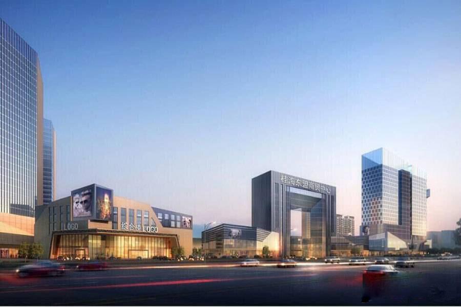广西防城港桂海东盟商贸中心效果图