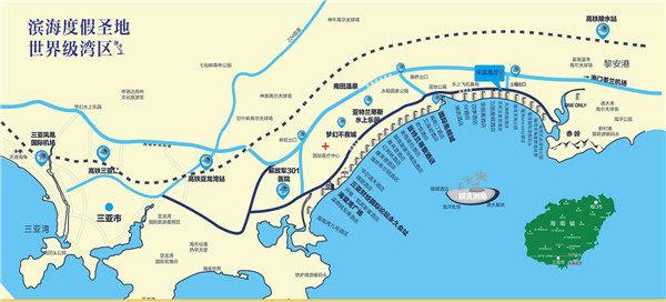 东和福湾交通图