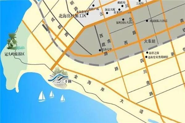 天隆三千海区位图
