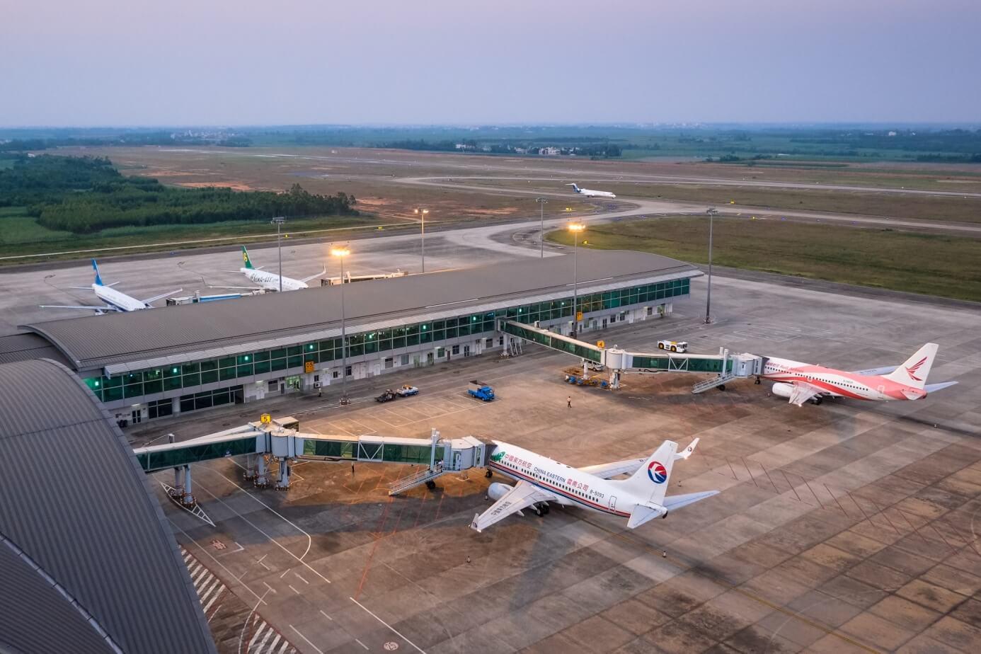北海福成机场新航站楼停机坪(图片来源《北海年鉴》)