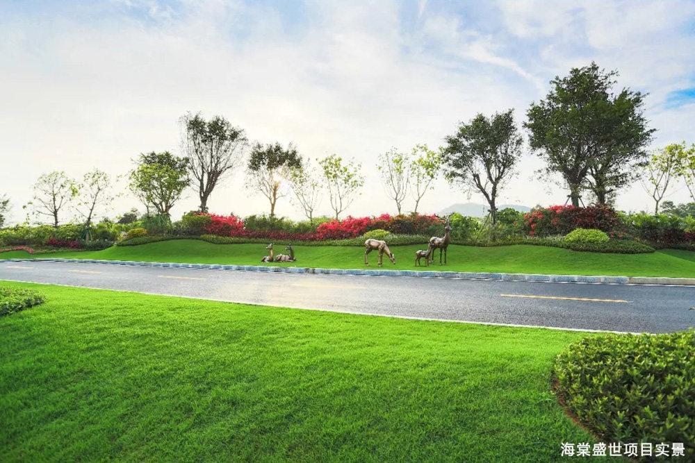 碧桂园海棠盛世实景图