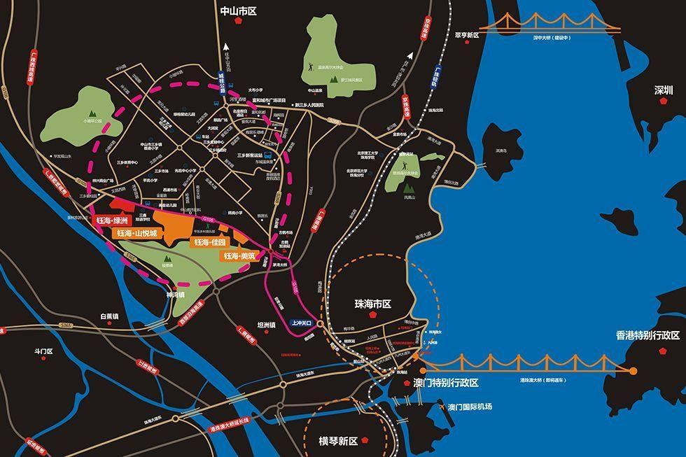 钰海绿洲区位图