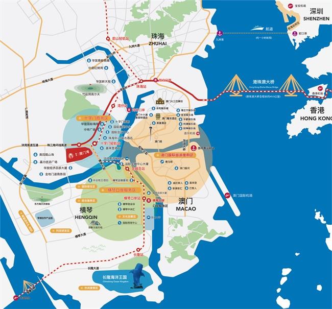 泰禾澳门湾区位图