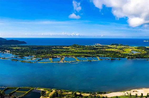 恒大双海湾实景图