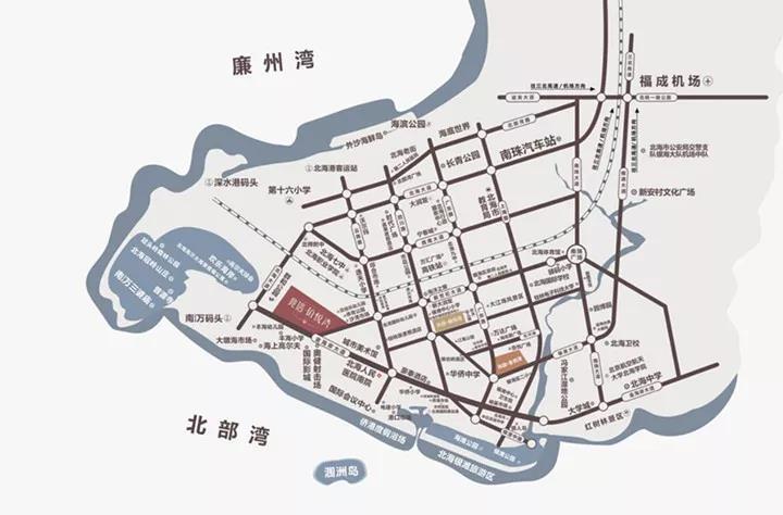 兆信铂悦湾区位图