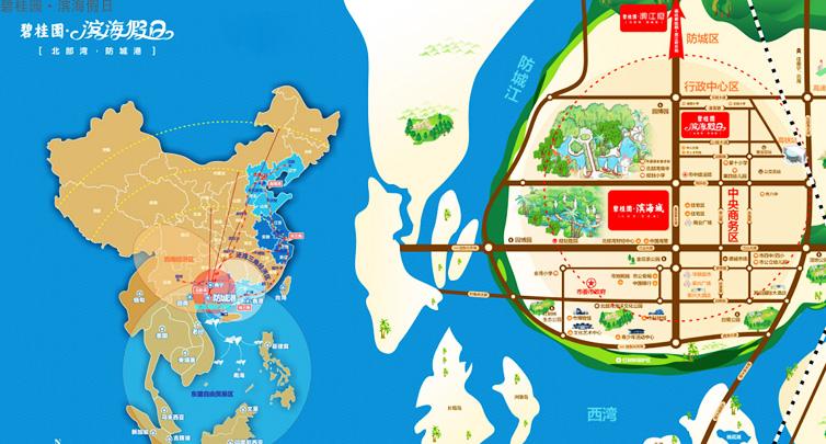 碧桂园梵高的海区位图