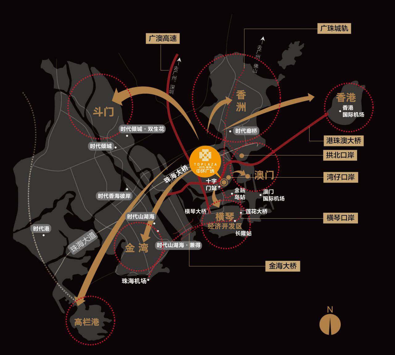 时代保利中环广场区位图