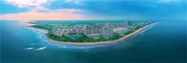 鼎龙湾国际海洋度假区实景图