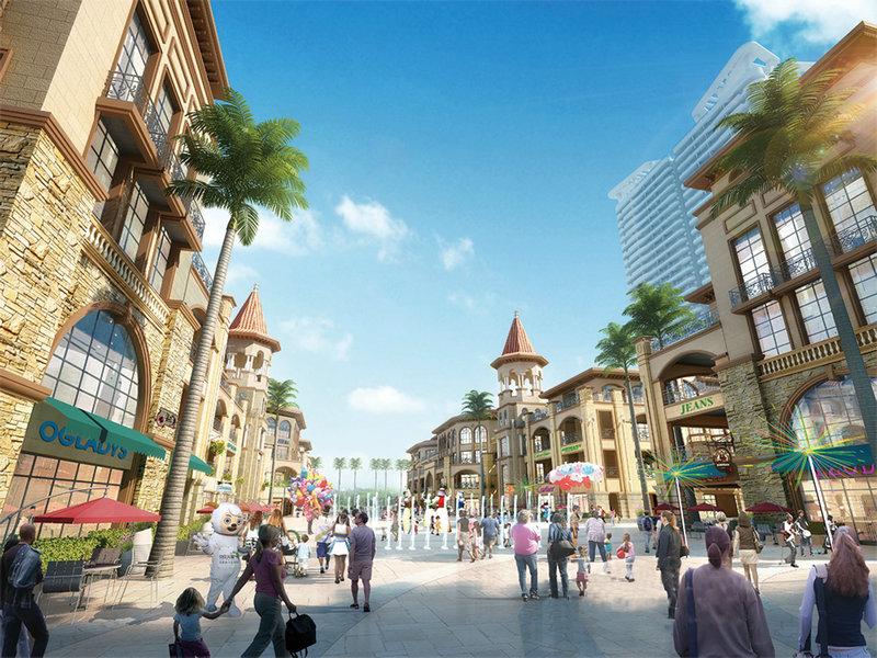 远大购物广场效果图